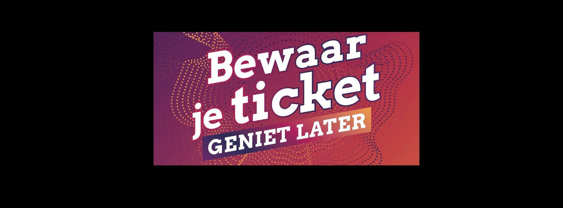 Bewaar je ticket - slide